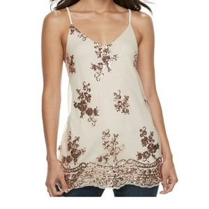 About a Girl Embellished  Camisole